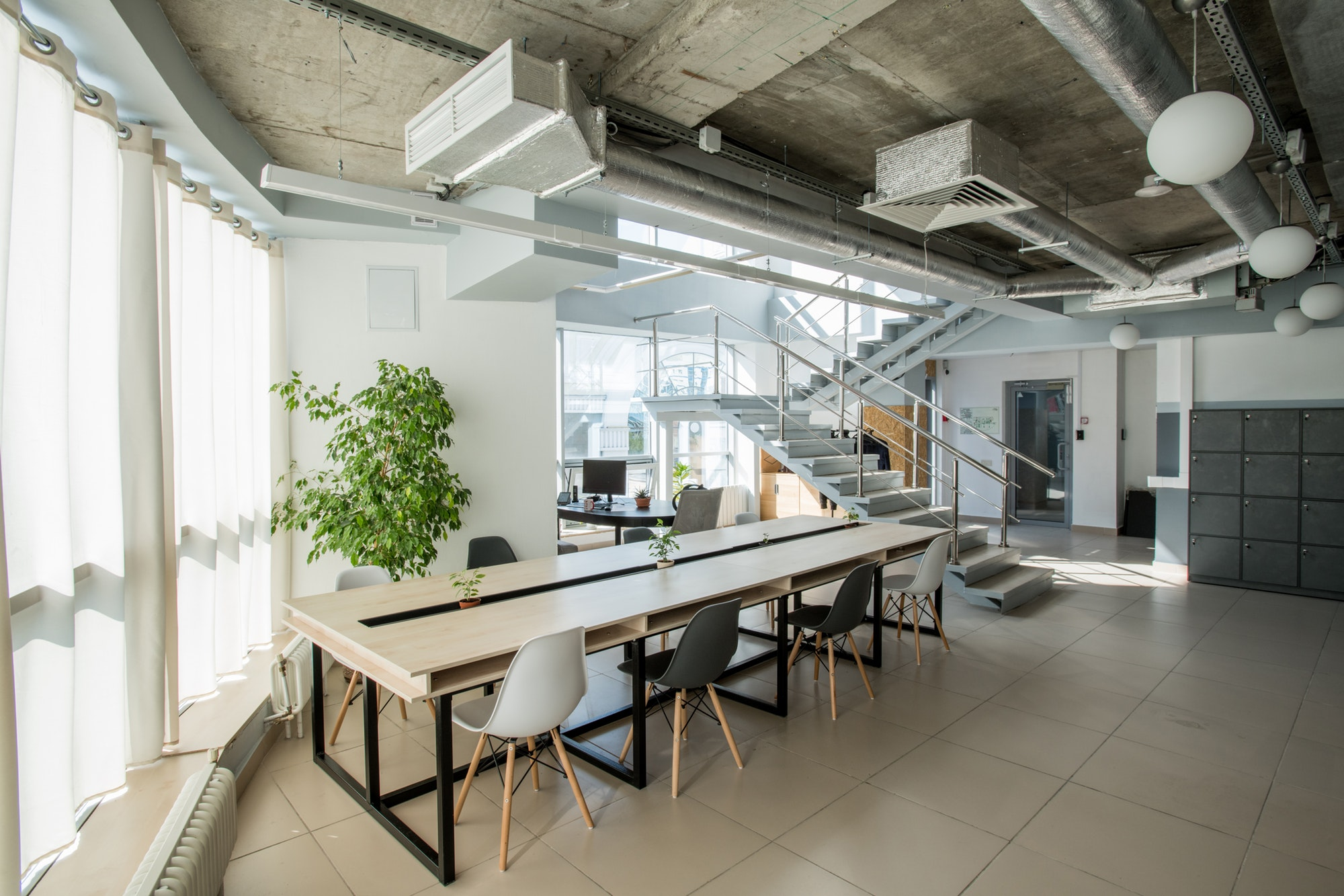 Modern business office
